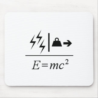 Mass–Energy Equivalence Mouse Pad