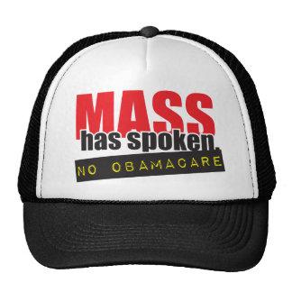 Mass Has Spoken - No ObamaCare Cap