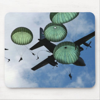 Mass Jump Mission, Parachutes, U.S. Army Mouse Pad