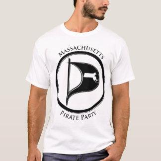 Mass Pirate Flag w/Text T-Shirt