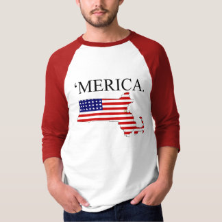 Massachusetts America T-Shirt