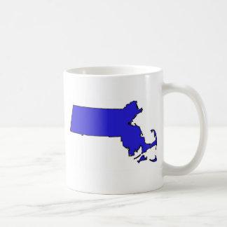 Massachusetts Basic White Mug