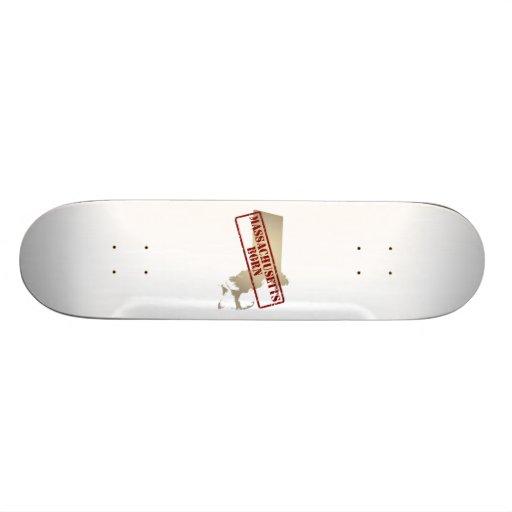 Massachusetts Born - Stamp on Map Skateboard Decks