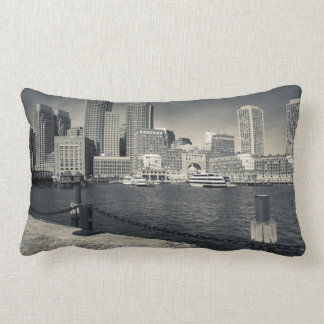 Massachusetts, Boston, Rowe's Wharf buildings Lumbar Cushion
