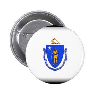 Massachusetts Button