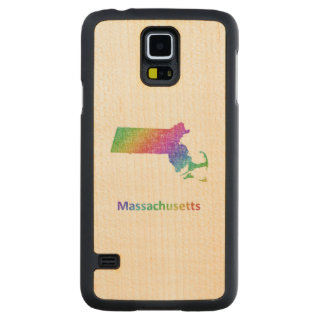 Massachusetts Carved Maple Galaxy S5 Case