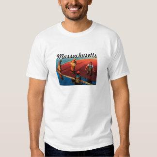 Massachusetts (Cranberry) T-Shirt