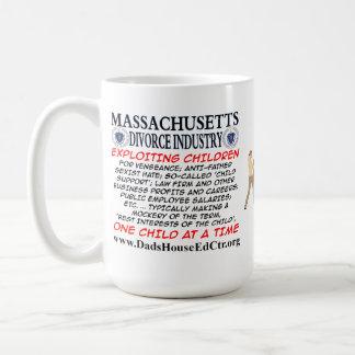 Massachusetts Divorce Industry. Basic White Mug