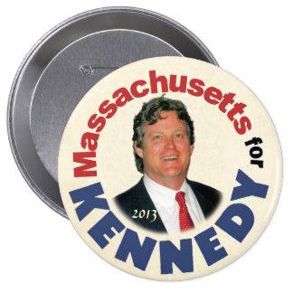 Massachusetts for (Ted) Kennedy (Jr.) 10 Cm Round Badge