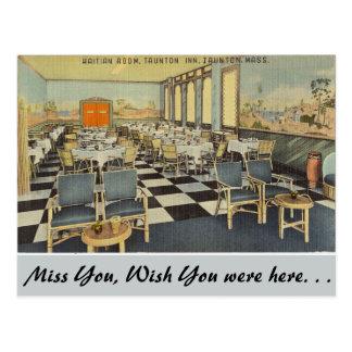 Massachusetts, Haitian Room, Taunton Post Cards