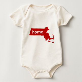 Massachusetts Home Baby Bodysuit