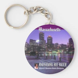 Massachusetts Keychain by Mojisola A Gbadamosi Oku
