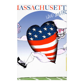 massachusetts loud and proud, tony fernandes stationery