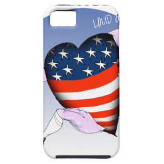 massachusetts loud and proud, tony fernandes tough iPhone 5 case