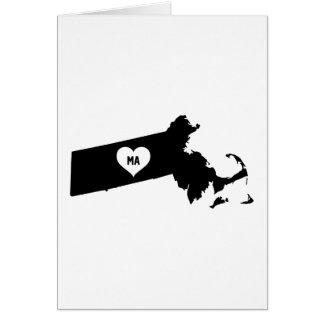 Massachusetts Love Card