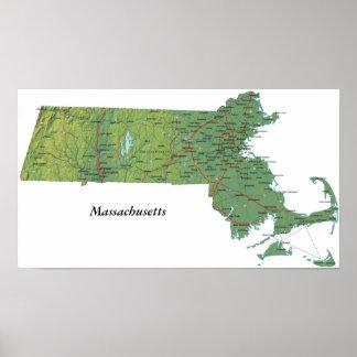 Massachusetts Print