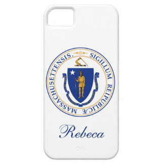 Massachusetts State Flag Barely There iPhone 5 Case