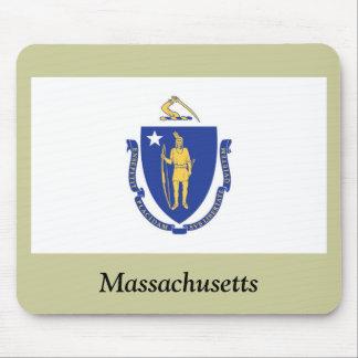 Massachusetts State Flag Mouse Pad