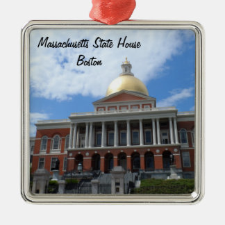 Massachusetts State House, Boston Silver-Colored Square Decoration