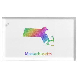 Massachusetts Table Card Holder