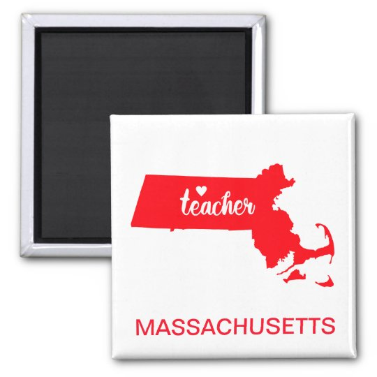 Massachusetts Teacher Magnet
