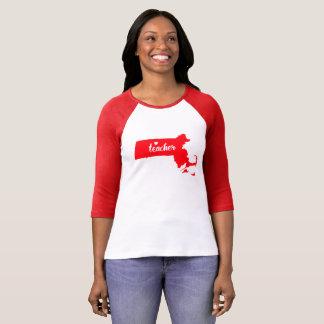 Massachusetts Teacher Tshirt (Red)