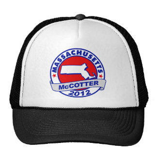 Massachusetts Thad McCotter Mesh Hat