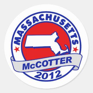 Massachusetts Thad McCotter Sticker