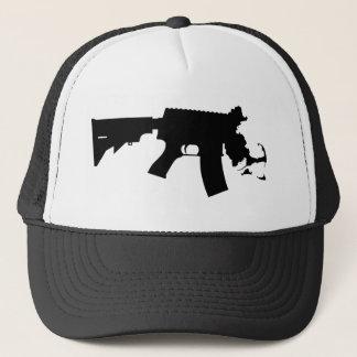 Massachusetts - The Spirit Of America AR Variant Trucker Hat