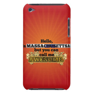 Massachusettsan, but call me Awesome iPod Touch Covers
