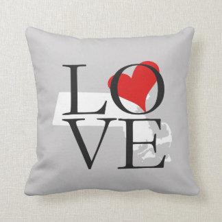 MassachusettsState Love Pillow