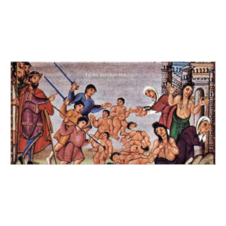 Massacre Of The Innocents By Kerald  (Best Quality Custom Photo Card