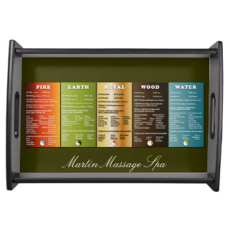 Massage and Salon Spa Serving Trays