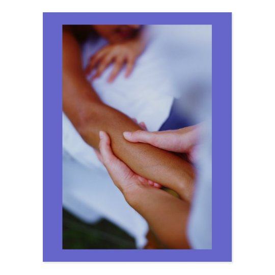 Massage & Bodywork Photos Postcard