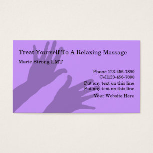 Sports massage business cards business card printing zazzle massage business cards colourmoves