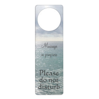 Massage in progress do not disturb sea door hanger