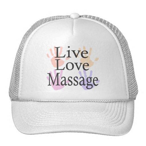 Massage live love hats