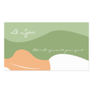 MASSAGE SPA RELAX BUSINESS CARDS
