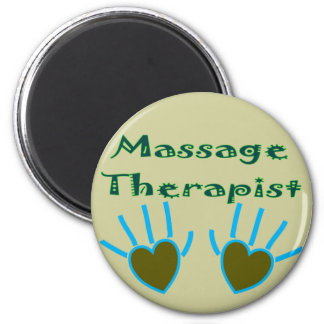 Massage Therapist Heart Hands Gifts Magnet
