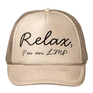 Massage Therapist here, relax! Trucker Hat