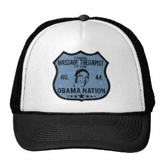 Massage Therapist Obama Nation Mesh Hat