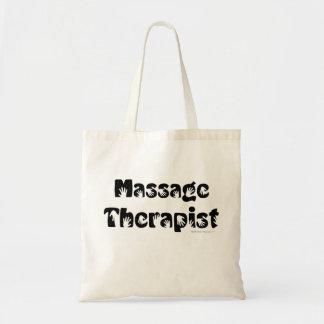 Massage Therapist Reusable Cotton Canvas Tote Bag
