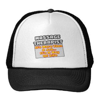 Massage Therapist...Way of Life Mesh Hat