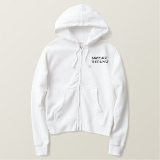 MASSAGE THERAPIST White Hoodie