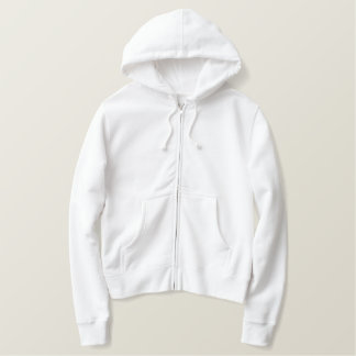 MASSAGE THERAPIST White Zip Hoodie