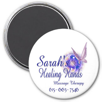 Massage Therapy in Franklin Tennessee 7.5 Cm Round Magnet