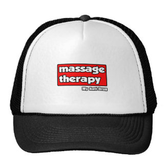 Massage Therapy..My Anti-Drug Trucker Hats