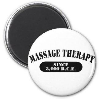 Massage Therapy Since 3,000 B.C.E. 6 Cm Round Magnet