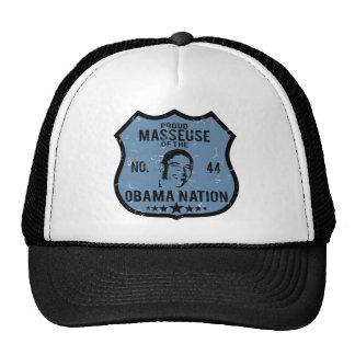 Masseuse Obama Nation Cap