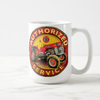 Massey Ferguson tractor service sign Coffee Mug